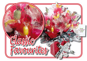 Classic Favourites Sweetie Bouquet