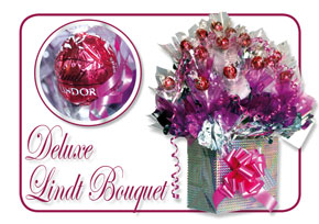 Deluxe Lindt Candy Bouquet