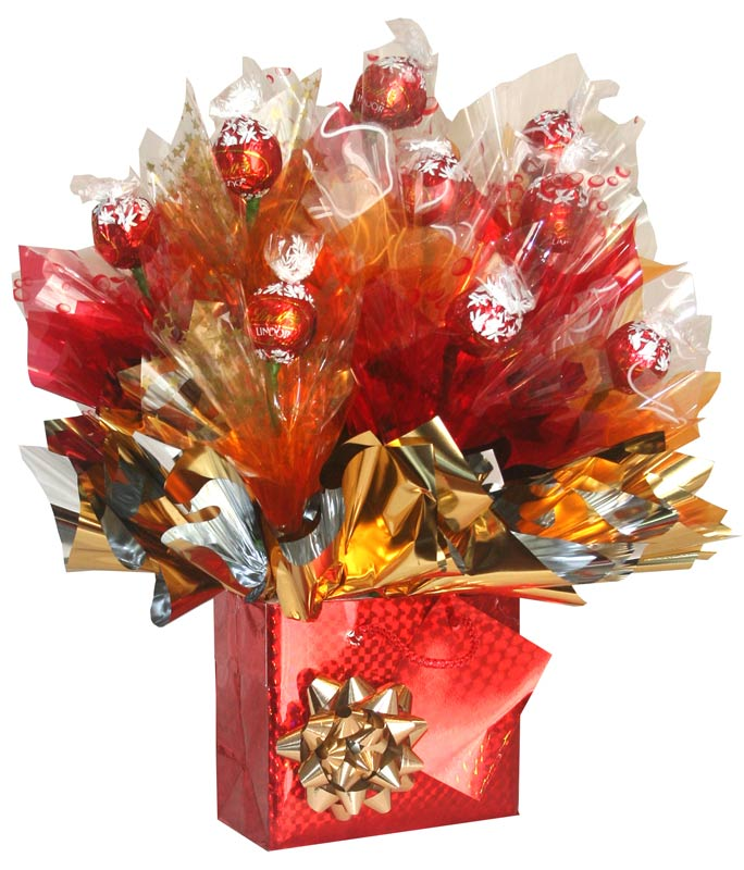 The gallery for gt christmas candy bouquet ideas