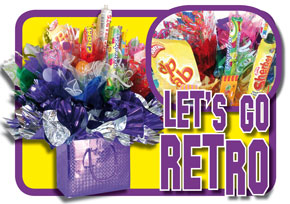 Retro Sweeties Candy Bouquet