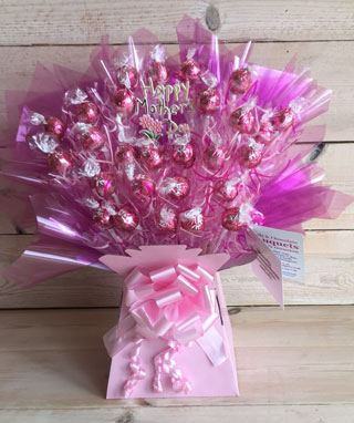 Chocolate Mother's Day Bouquet Lindt Truffle