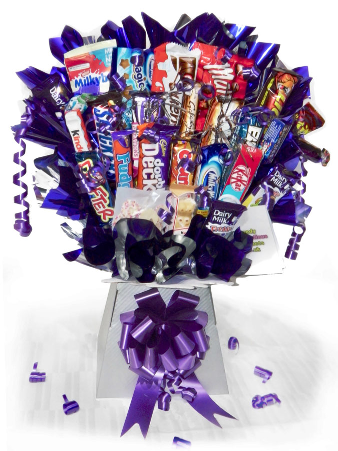 Chocolate Mountain Bouquet A Candy Bouquet Gift