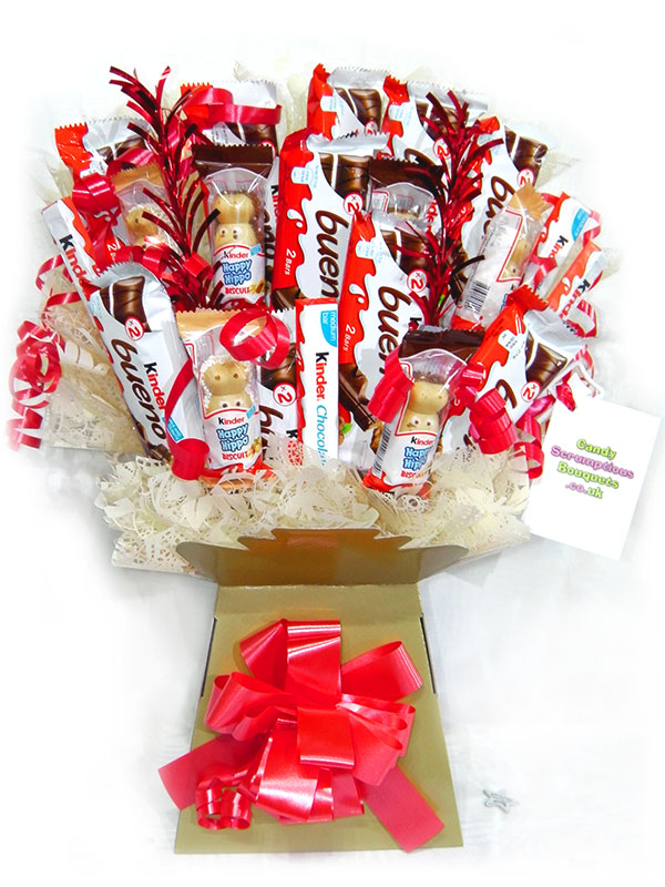 Kinder Variety Chocolate Bouquet