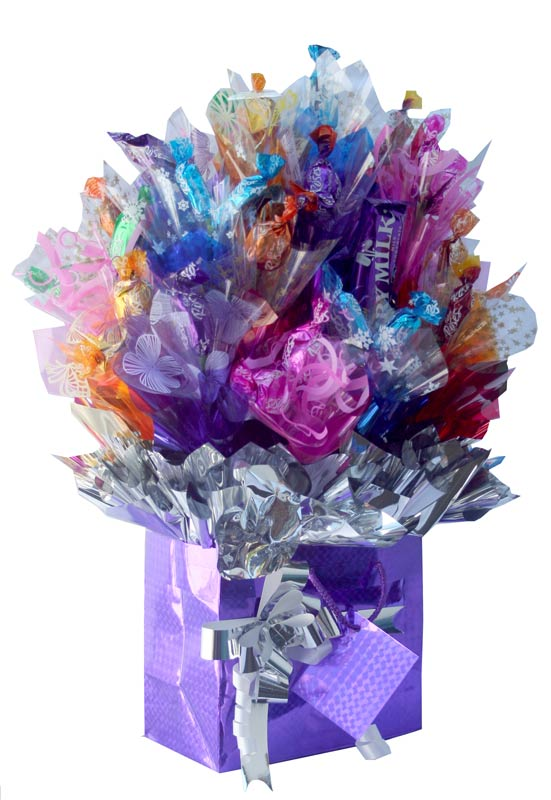 Say it with roses a candy bouquet gift